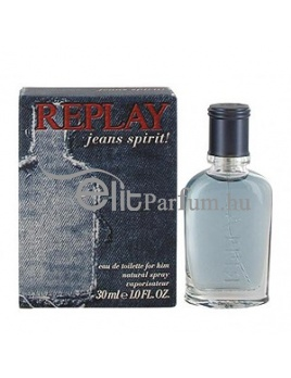 Replay Jeans Spirit! for him férfi parfüm (eau de toilette) edt 30ml