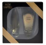 Naomi Campbell Queen of Gold női parfüm Set (Ajándék szett) (eau de toilette) edt 15ml + Tusfürdő 50ml