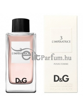 Dolce & Gabbana (D&G) No.3 L'impératrice pour femme női parfüm (eau de toilette) edt 100ml teszter