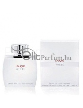 Lalique White pour Homme férfi parfüm (eau de toilette) edt 75ml