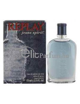 Replay Jeans Spirit! for him férfi parfüm (eau de toilette) edt 75ml teszter