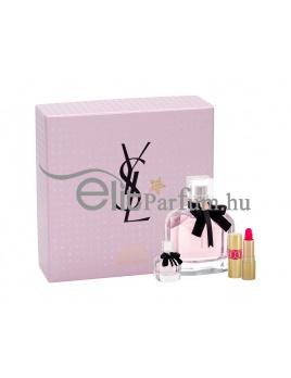 Yves Saint Laurent Mon Paris női ajándék szett (eau de parfum) Edp 90ml+Edp 7,5ml+1,4ml Rúzs