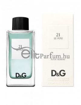 Dolce & Gabbana (D&G) No.21 Le Fou unisex parfüm (eau de toilette) edt 100ml teszter