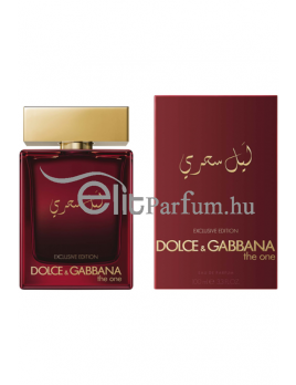 Dolce & Gabbana (D&G) The One Mysterious Night Exclusive Edition férfi parfüm (eau de parfum) Edp 100ml