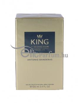 Antonio Banderas King of Seduction Absolute férfi parfüm (eau de toilette) Edt 100ml