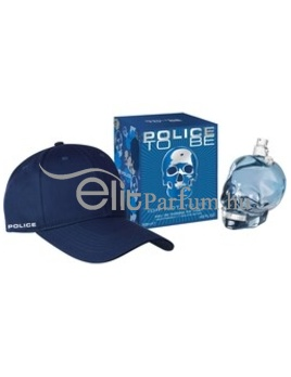 Police To Be férfi parfüm szett (eau de toilette) Edt 125ml + Sapka