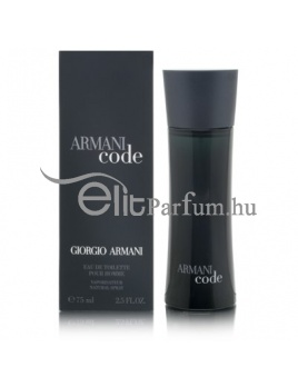 Giorgio Armani Code pour Homme férfi parfüm (eau de toilette) edt 75ml