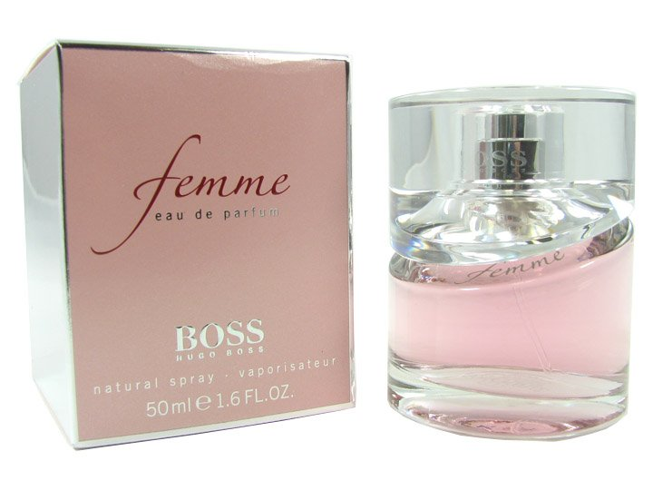hugo boss femme eau de parfum 50 ml kozmetikum rak rg p. Black Bedroom Furniture Sets. Home Design Ideas