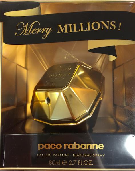 Paco Rabanne Lady Million Merry Millions női parfüm (eau de parfum) Edp 80ml